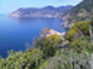 The Cinque Terre, the vineyards overlooking the sea