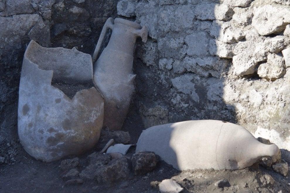 Trovate a Pompei anfore con vino cretese