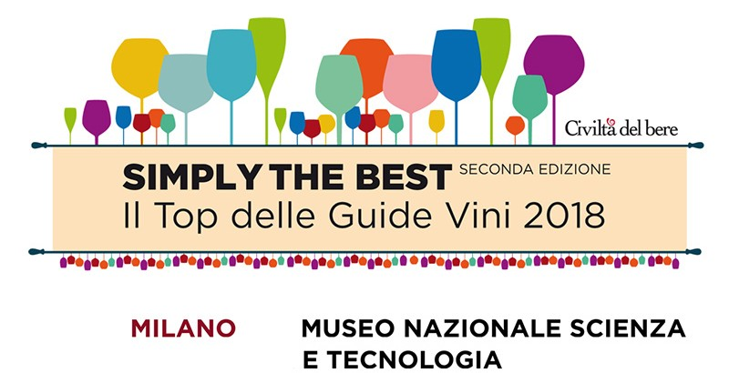 "Il ""Top delle Guide Vini"" a ""Simply the Best"""