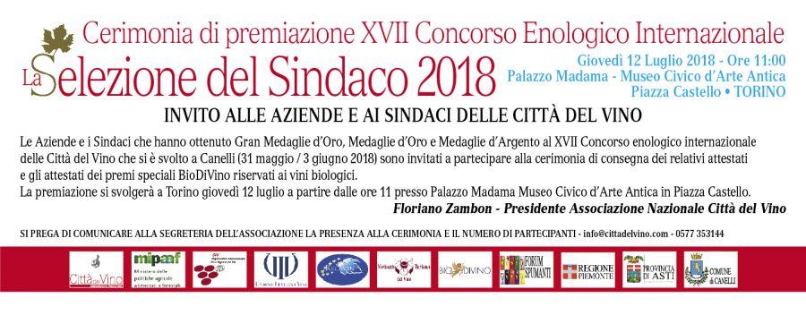 A Torino la premiazione de La Selezione del Sindaco