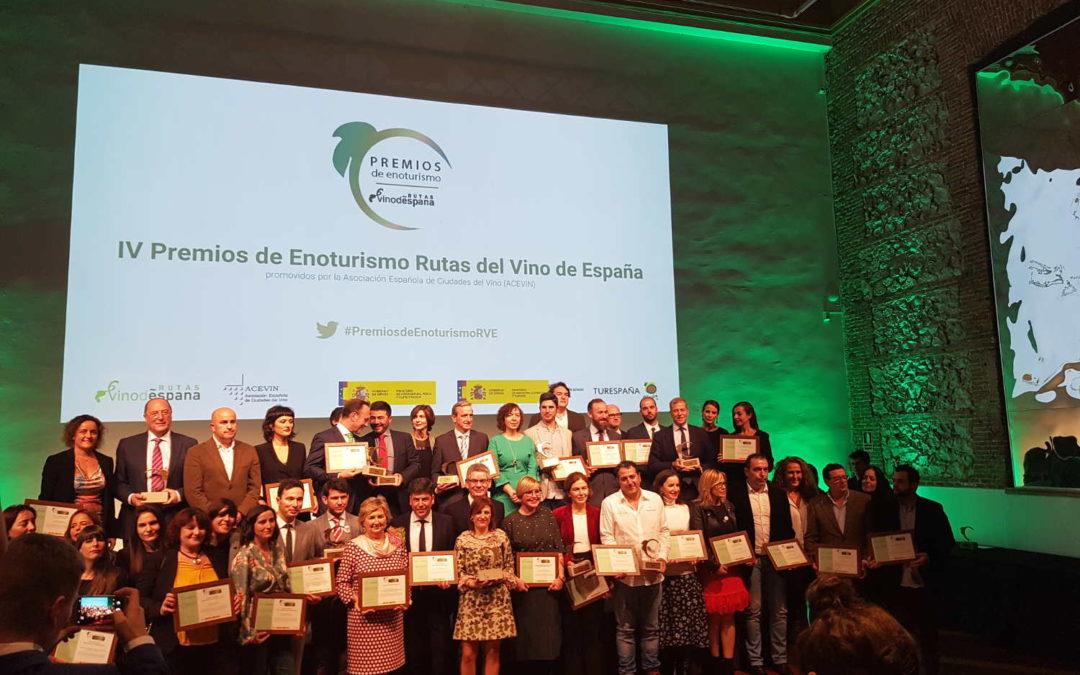 IV Premios De Enoturismo Rutas Del Vino De España