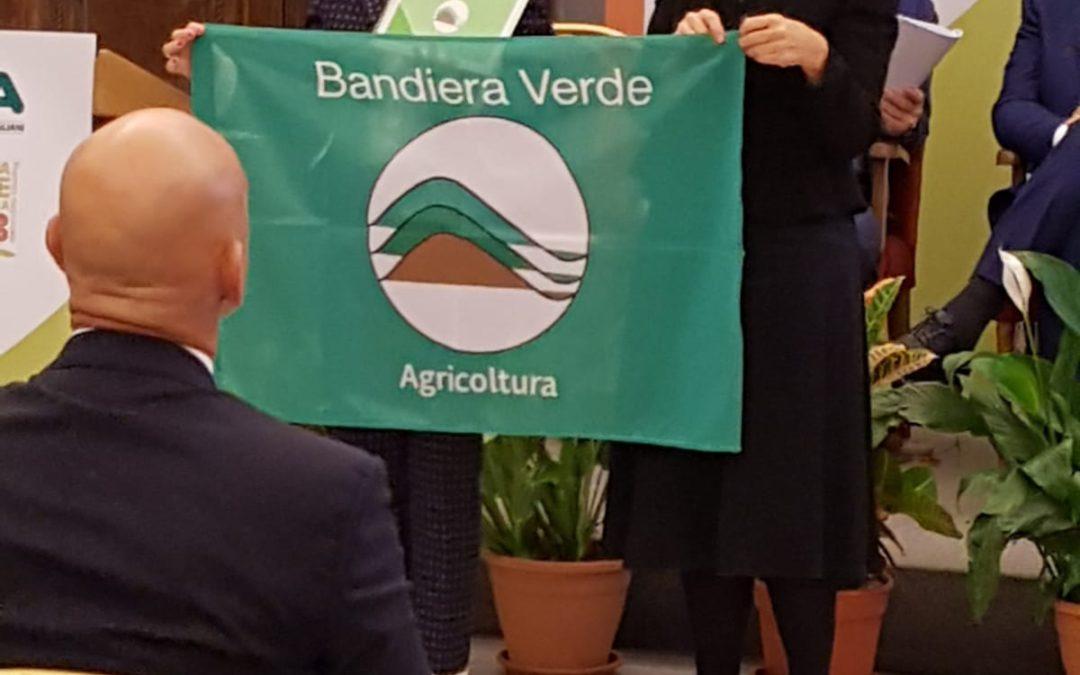 Bandiera Verde Agricoltura ad azienda vinicola di Cesena