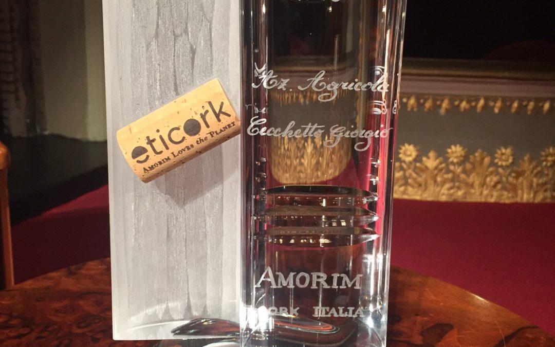 Premio ETICORK a Vendemmia solidale del Raboso Piave