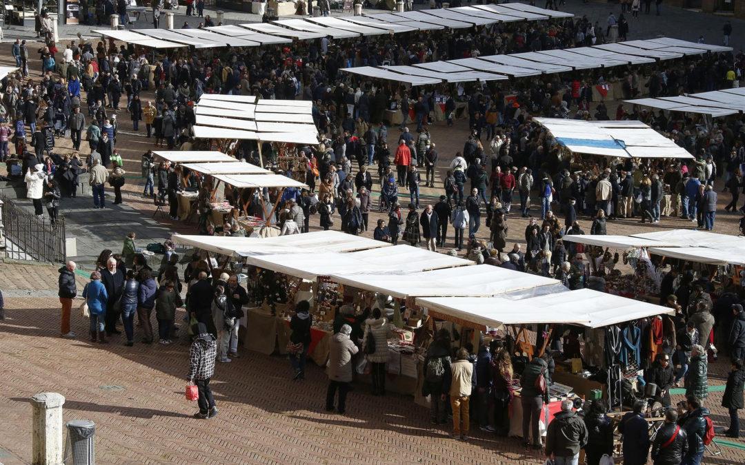 Siena si prepara per il Mercato nel Campo