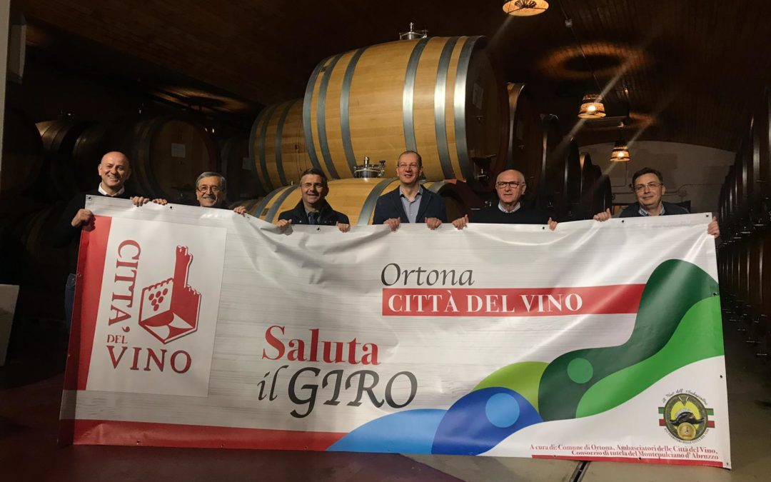 Ortona saluta il Giro d'Italia