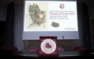 Premiazione Words of Wine 2019