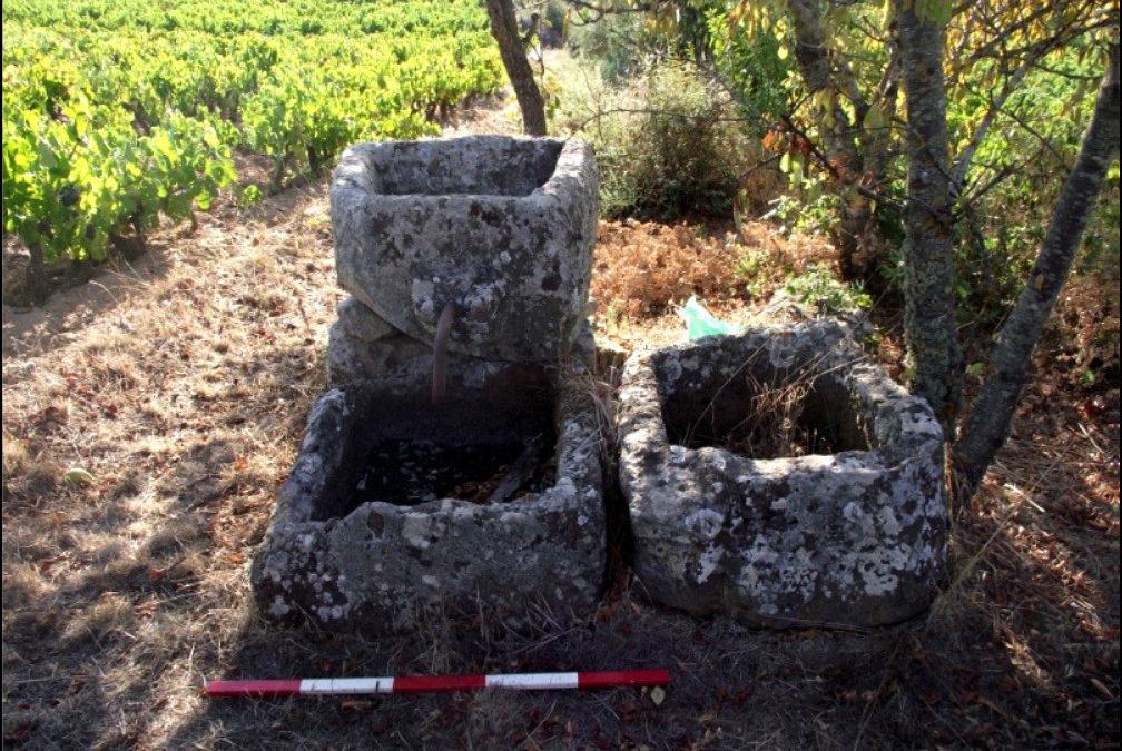 Arcivos. Antichi impianti di produzione del vino
