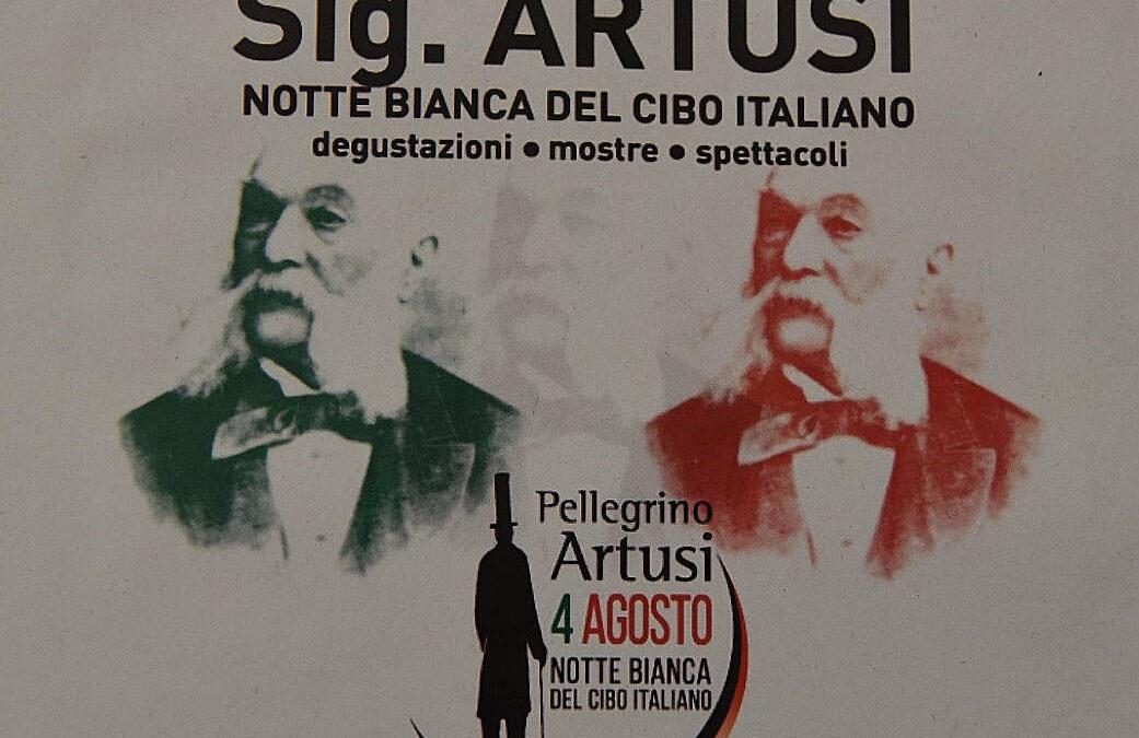 Notte Bianca del Cibo Italiano omaggio a Pellegrino Artusi