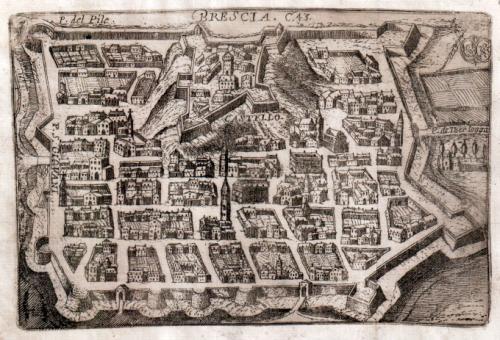 Antica mappa urbana (Brescia )