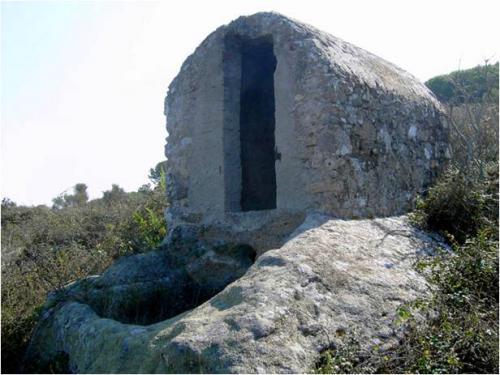 Capannello-palmento  Isola Giglio (GR) (Toscana) - 2